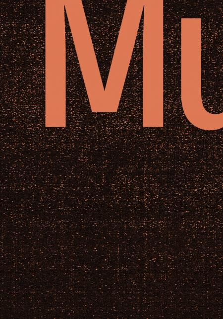"""Detail des Plakats """"TypoTag. Typografie und Museum"""", Museum Angewandte Kunst Frankfurt, 2017, Gestaltung: Bureau Sandra Doeller"""