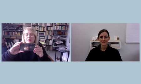 Eva Linhart und Sandra Doeller, 13.12.2020
